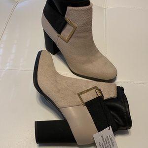 Calvin Klein Ettore calf fur boots,shoes.New.
